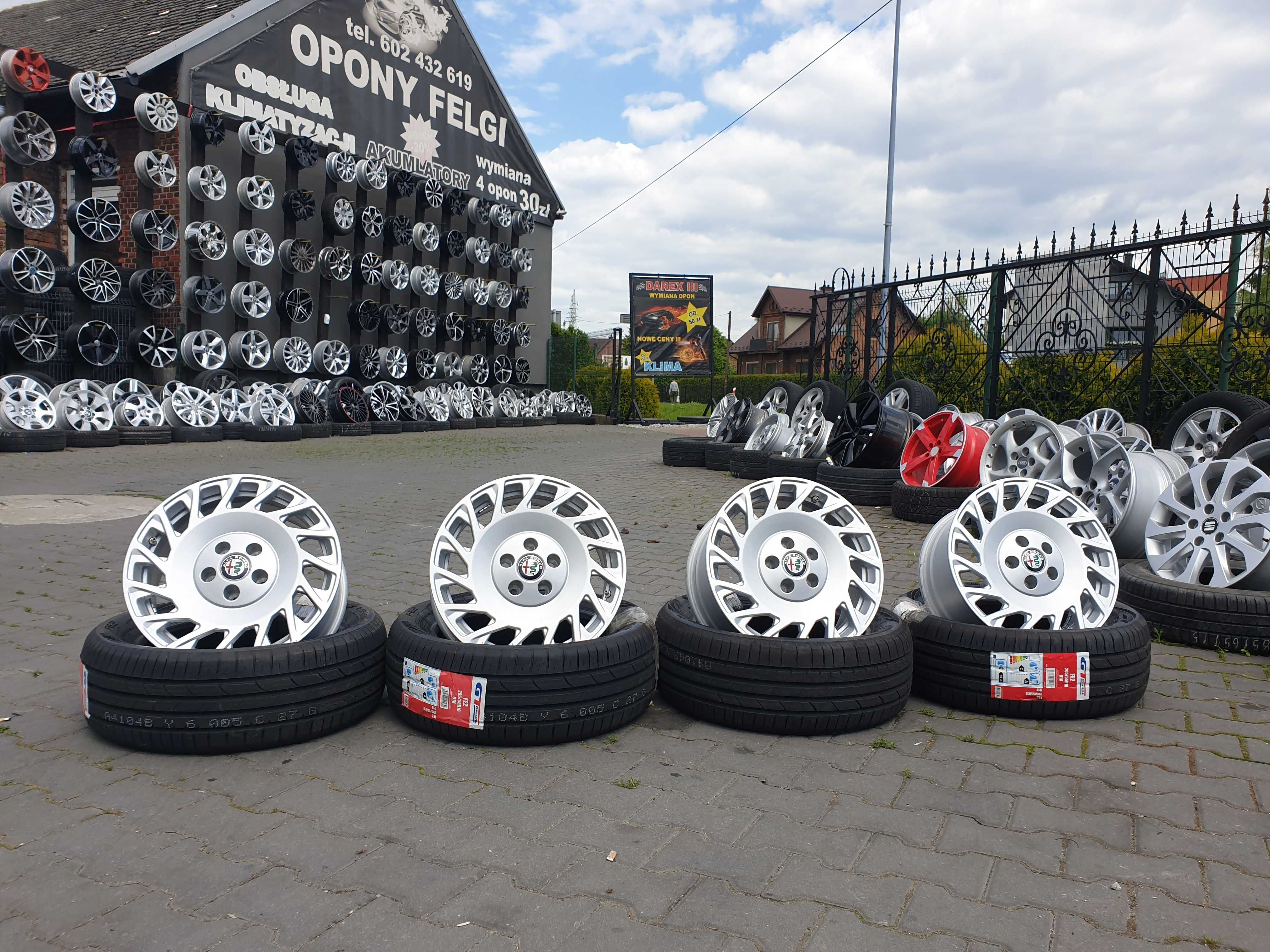 "Felgi aluminiowe 16"" 5x110 7j et25 Alfa Romeo Opel ITP. czujniki"