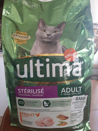 Ração Ultima Gato esterilizado