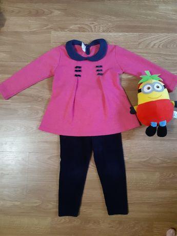 Тепленький костюм на дівчинку 2-3 років