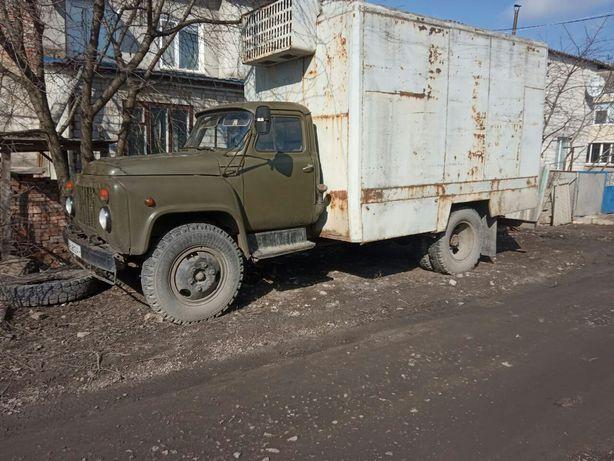 Машина грузова ГАЗ 53а термо буда