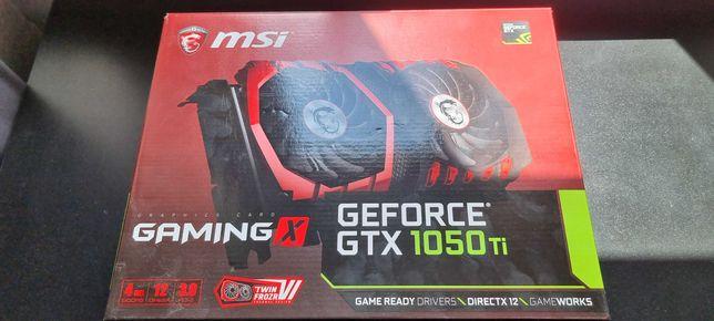 Karta graficzna MSI  GTX 1050 TI GAMING X 4GB