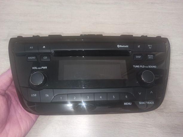 Магнитола  с  Bluetooth на Suzuki sx4
