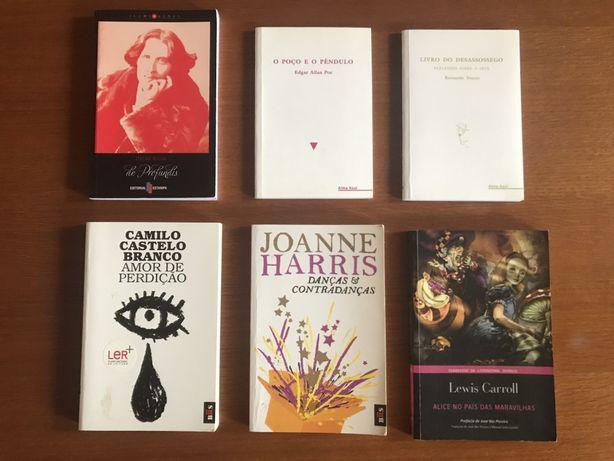Pack de livros de bolso
