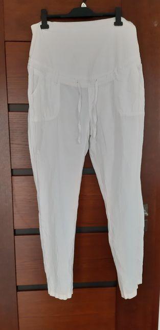 Spodnie ciążowe lniane roz 44 C&A