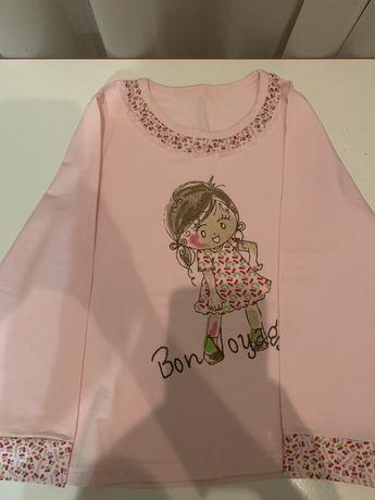 Продам пижамку для девочки на 5-6 лет, на рост 116