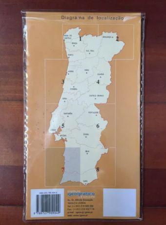 Carta Militar - Lagos. Carta Militar de Portugal Série M586