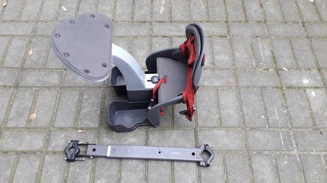 Fotelik rowerowy przedni WeeRide Classic szary
