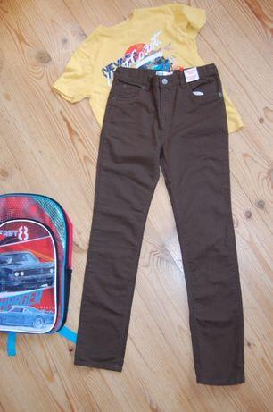 Модные штаны/джинсы/брюки цвета хаки m&co.новые