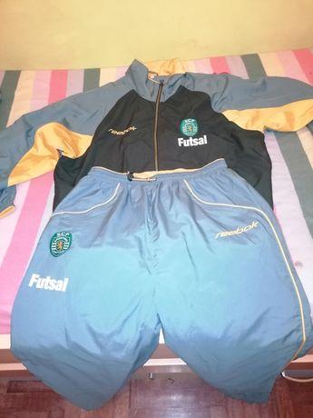 Fato de treino FUTSAL Sporting OFICIAL