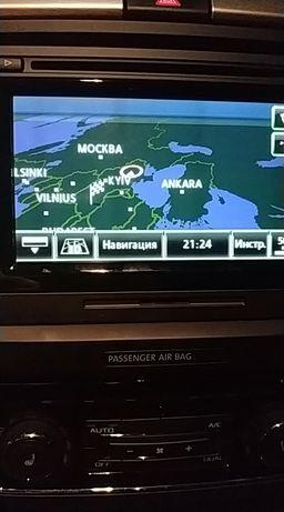 Карты восточной Европы