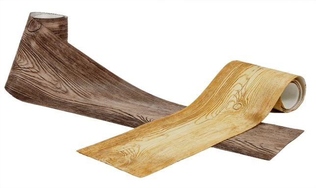 Elastyczna deska elewacyjna, imitacja drewna, panel, drewnopodobna