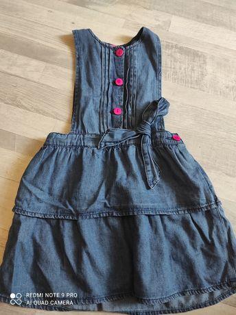 Sukienka jeansowa 122