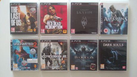 Zestaw 8 gier PS3, Diablo 3 PL Dark Souls