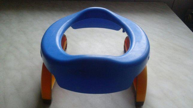 Дорожный горшок или накладка на унитаз Potette Plus Blue