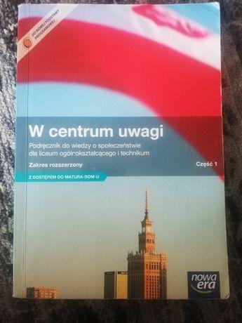 W centrum uwagi Nowa Era podręcznik do WOSu