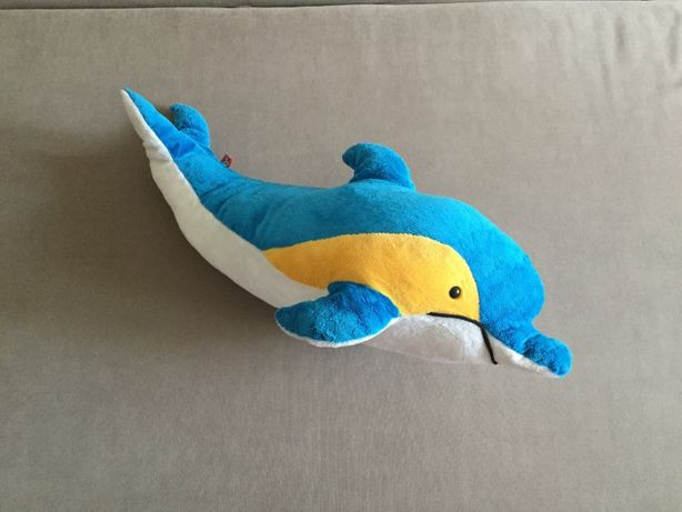 мягкая игрушка подушка Дельфин