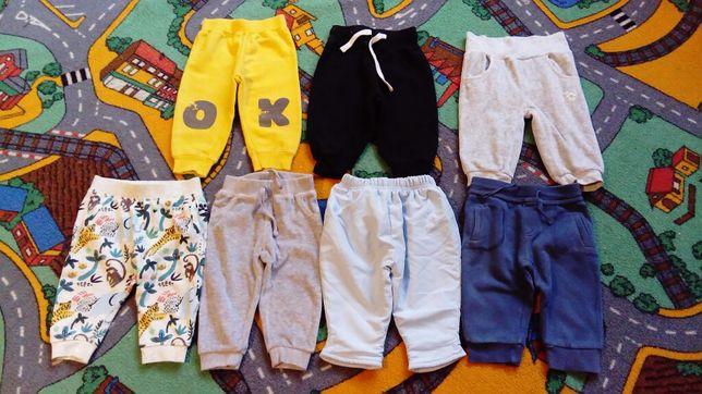 Spodnie rozm. 68 - COOL CLUB, 5 10 15, HM, EARLY DAYS. Jak nowe!