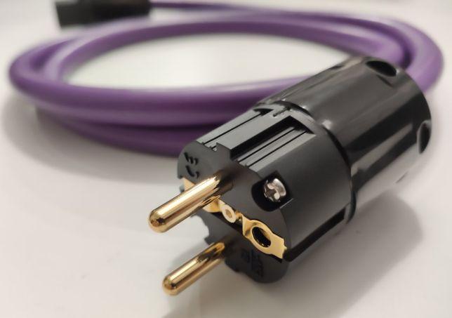 Melodika MDC3400 kabel zasilający audio 3x4mm2 100cm wtyki audio