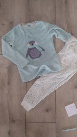 Piżamka polarowa typu miś