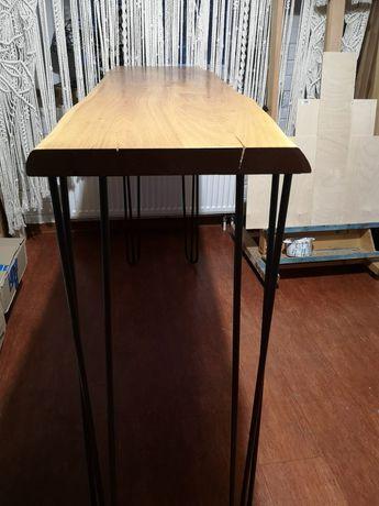 Stół barowy dębowy