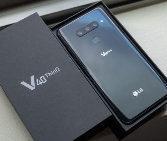 """LG V40 ThinQ V405UA 6/64GB Black 6.4"""" 3300 MAh оригинал запечатаный"""