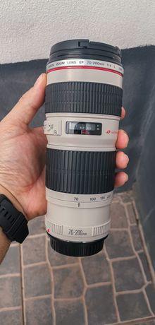 Objetiva Canon Serie L 70-200 F4 USM