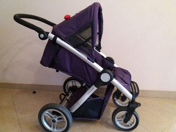 Wózek Mutsy Transporter fiolet 3w1 gondola,spacerówka,nosidełko