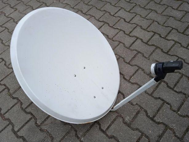 Antena satelitarna 80 cm z konwerterem konwerter