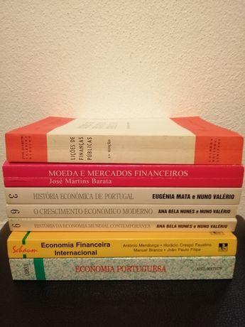 Livro de economia e finanças