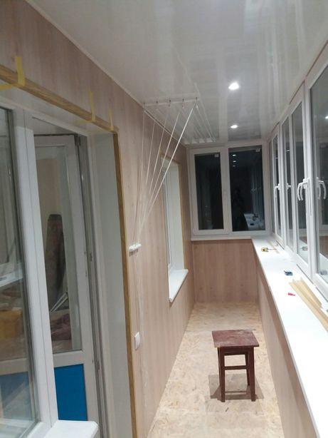 Балкон под ключ разварка обшивка регулировка и ремонт окон