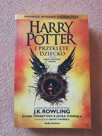 Harry Potter 8 Przeklęte Dziecko cz. I i II Joanne K. Rowling