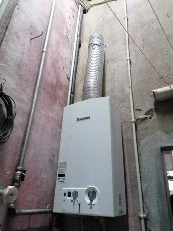 Esquentador Vulcano ventilado 14 litros em bom estado