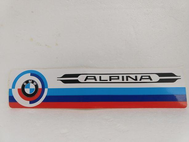 Stara naklejka nalypka BMW Alpina