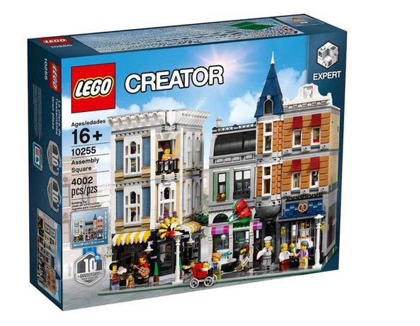 Klocki Lego Creator PLAC ZGROMADZIEŃ 10255 NOWY zamienie OPIS!