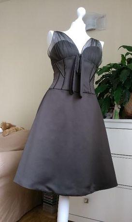 HEXELINE Sukienka koktajlowa wesele CUDOWNA