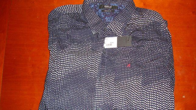 Новая Мужская Рубашка Replay m4953 размер Xl