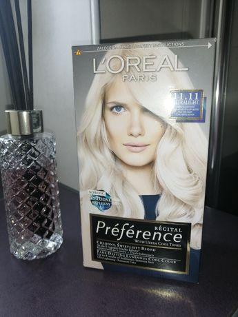 Farba Loreal preference 11.11 chłodny świetlisty blond