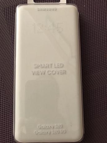 Etui z klapką do Samsung Galaxy S20 5G Smart Led