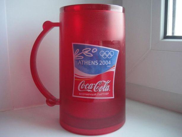 Кружка замораживающая Олимпийская от Coca-Cola