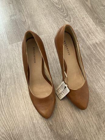 Skórzane buty 38