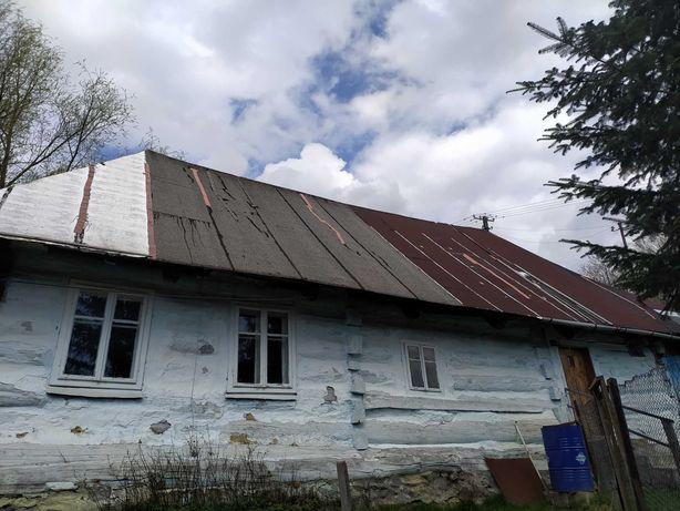 Sprzedam drewniany dom z bali 150-letni (bielony) do przeniesienia