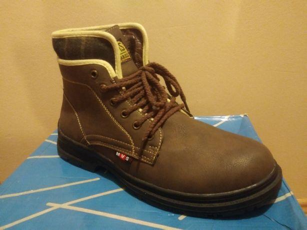 Brązowe męskie buty zimowe 43, 44