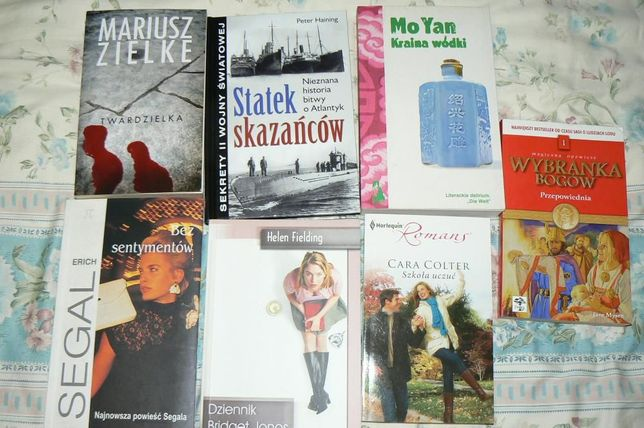Zielke, Segal, Colter, Yan, książki