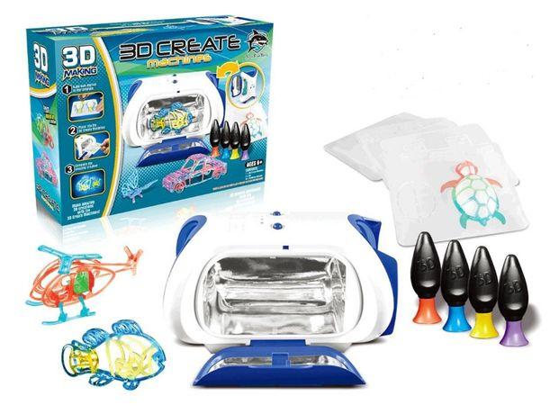 Развивающий детский набор для творчества 3Д-Принтер, 3D Magic Maker