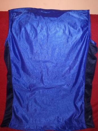 Koszulka do koszykówki niebiesko-granatowa L