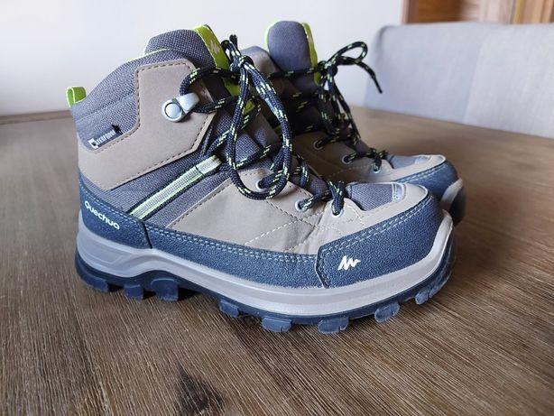 Buty trekkingowe Quechua waterproof rozmiar 34