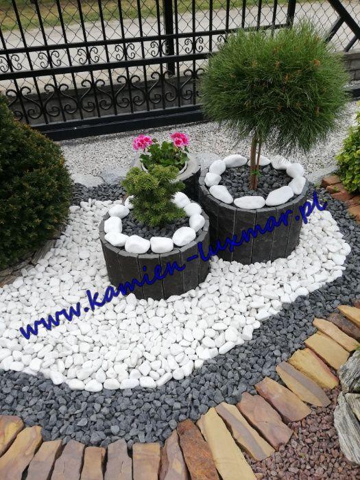 Otoczak biały Grecki Orginalny THASSOS /kamień ogrodowy/workowany 20kg Radzymin - image 1