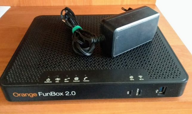 Router wifi funbox 2/dekoder WHD80