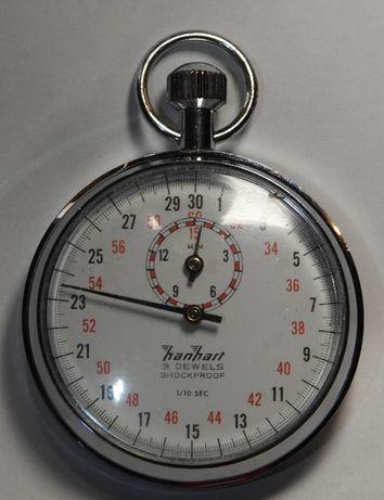 Секундомер Hanhart, Made in Germany Германия 1/10сек 3 камня