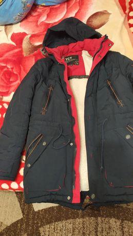Парка куртка зима для мальчика158 - 164